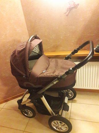 Wózek 2 w 1 babydesign lupo comfort brązowy