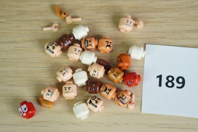 Lego #189 - Piraci z Karaibów - Star Wars - Indiana Jones - Główki