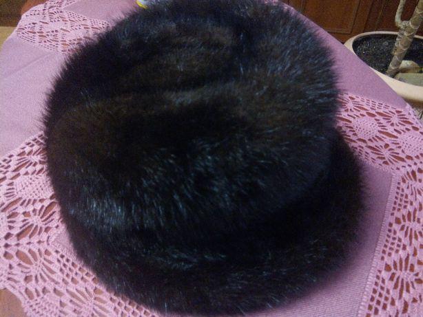 Женская стильная Норковая шапка