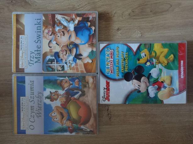 Bajki na DVD - 5 sztuk.