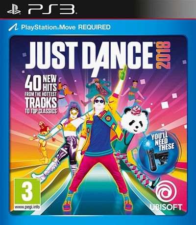 just dance 2018 ps3 NOWA