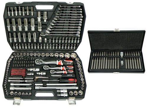 Набор инструмента 216 ед. YATO YT-38841+Бити YATO YT-0400 Оригинал!