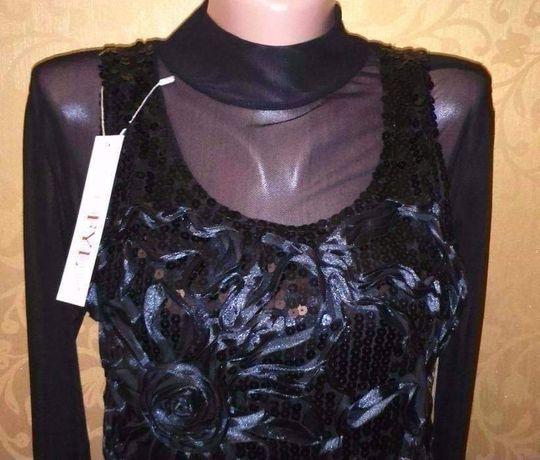 Новое платье женское с паетками р.46