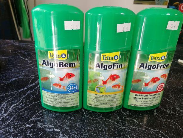 Preparaty przeciwko glonom w oczkach i sadzwakach wodnych Aquafizz Cre