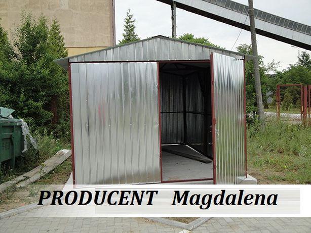 Garaż blaszany 3x5 DWUSPAD garaże blaszane 3x6 4x5 4x6 Cała Polska