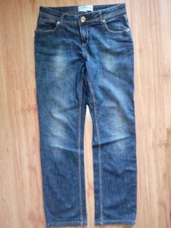 Spodnie proste jeans 38 tanio