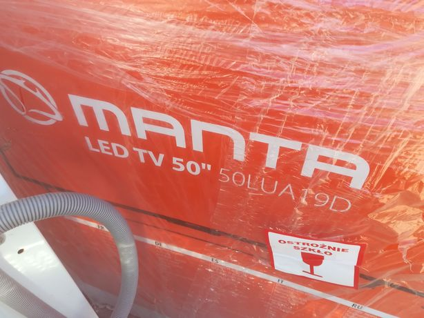 2 uszkodzone tv 50'' Samsung / Manta