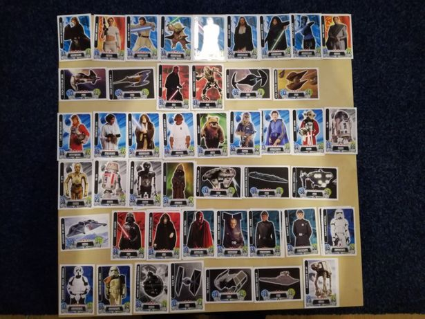 Cartas Star Wars Continente