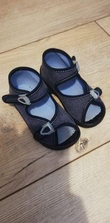 Kapcie sandały typu Befado Lemigo roz 23, 15 cm