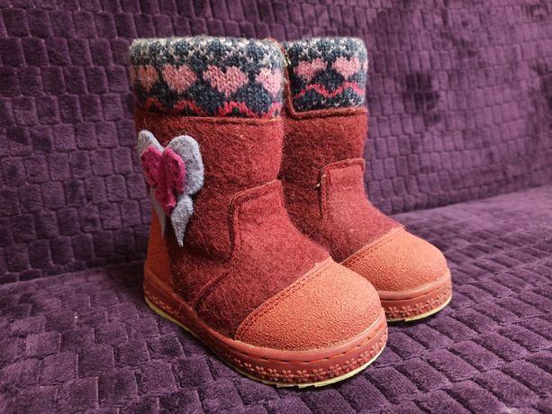Дитяче зимове взуття 25 р. М-МИЧИ б/у