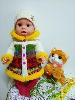 Одежда для куклы платье пупса Беби Борн Берн Baby Born