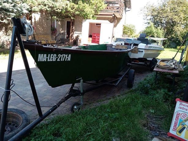 Łódka tanio drewniana
