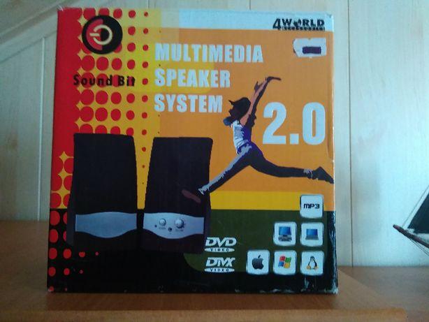 głośniki do komputera 2.0
