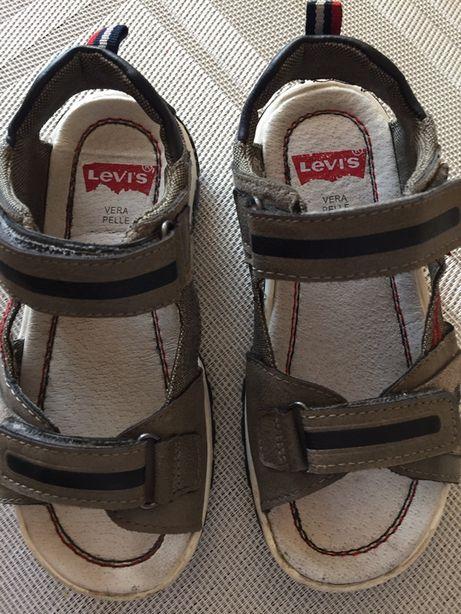 Sandały Levis (skórzane)