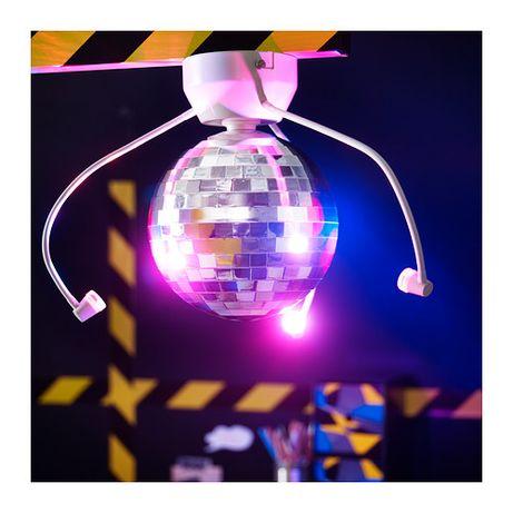 Imprezowa kula disco DANSA ikea lampa sufitowa