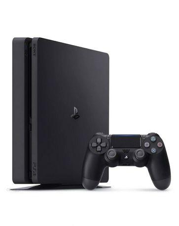 Playstation 4 PS4 Slim + oryginalny pad. Roczna konsola - jak NOWA!