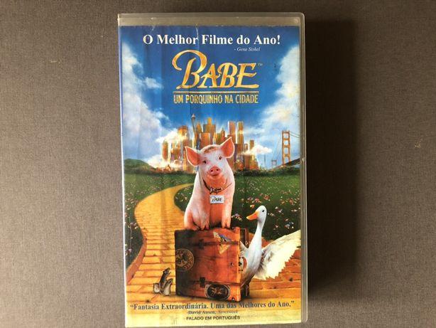 """VHS """"Babe, um porquinho na cidade"""""""