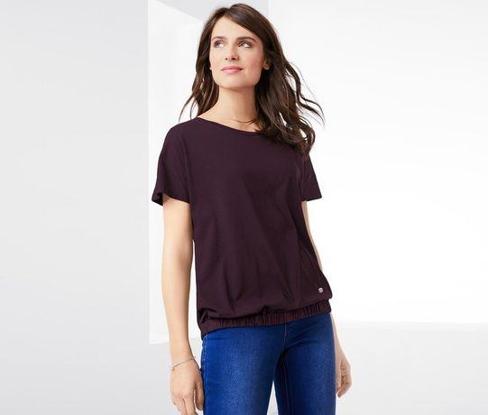 Мягкая ягодная блуза-футболка от Tchibo(Германия), размеры наши: 46-50
