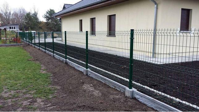 PROMOCJA! Ogrodzenia panelowe panele ogrodzeniowe Panel 153 fi 4