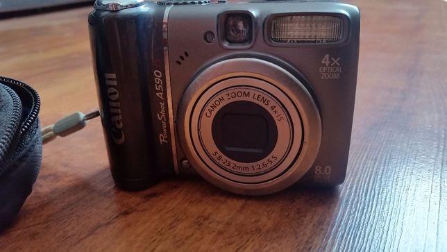 Aparat fotograficzny Canon, pokrowiec