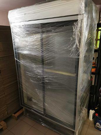 Dwie witryny chłodnicze 90cm, 120.