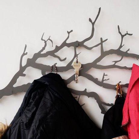 Вешалка настенная Для Одежды, В подарок или для себя, Декор для дома
