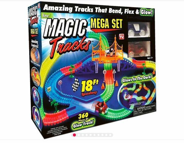 Мэджик Трек Magic Tracks две гоночные машинки