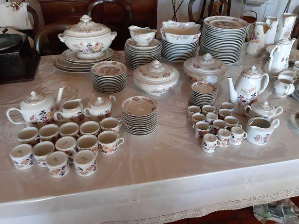 Servico de jantar vista alegre  SAMURAI+cafa+chá - ACEITAMOS PROPOSTAS