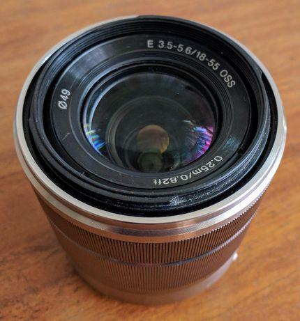 Объектив Sony E-Mount 18-55mm f/3.5-5.6 OSS