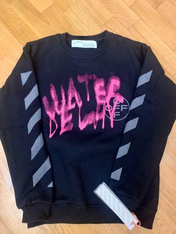 толстовка Off-White Water Delay свитер,кофта  Оригинал!