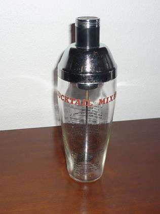 Copo misturador de coktail ou shaker dos anos 60 Santarém - imagem 1