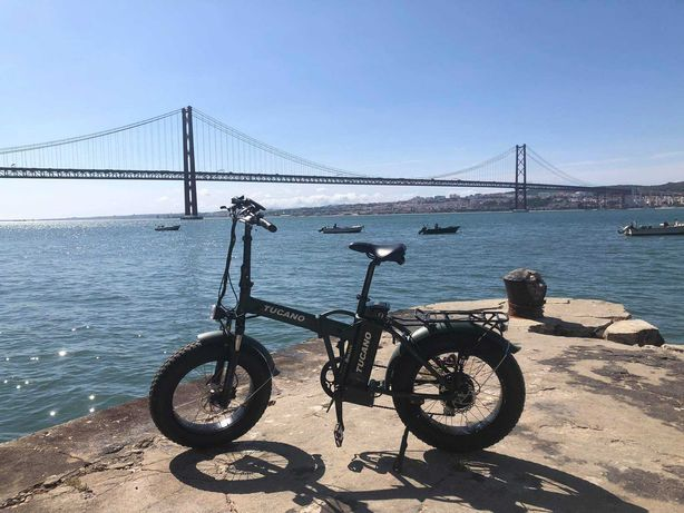 Bicicleta Fat Elétrica e Dobrável - Tucano Monster 20 Limited Edition