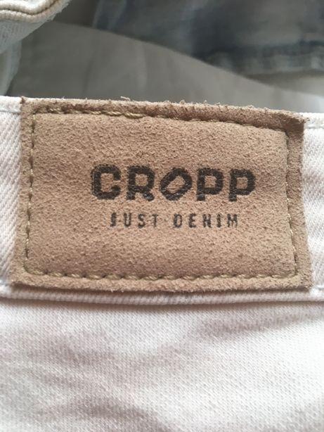 Spodnie jeans CROOP rozm M z przetarciami stan idealny!
