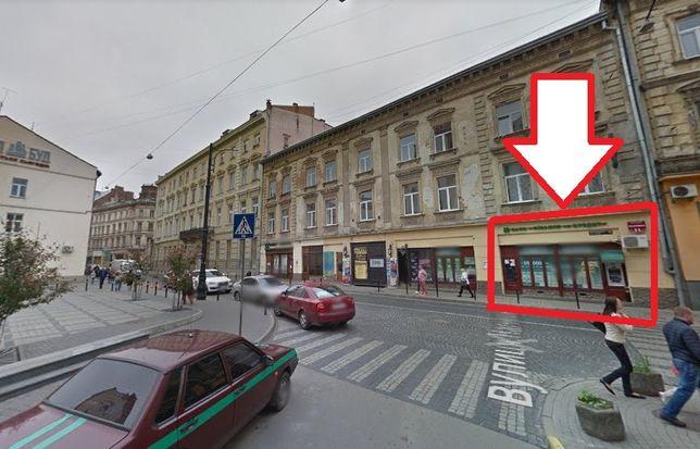 Оренда фасадного комерційного приміщення по вул. Гнатюка, 11. Площа 93