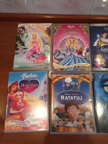 Barbie, Avatar i inne filmy na DVD
