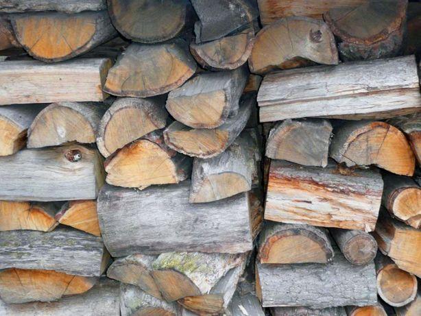 BUK , DĄB , JESION - drewno kominkowe - gotowe do palenia - SUCHE