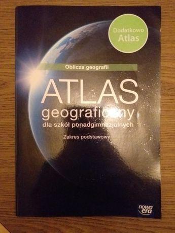 Atlas geograficzny oblicza geografii
