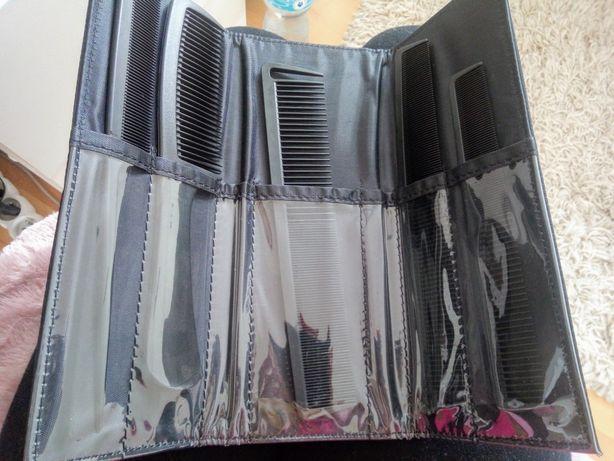 Zestaw Grzebień Fryzjerski Niełamliwe Carbon BH221