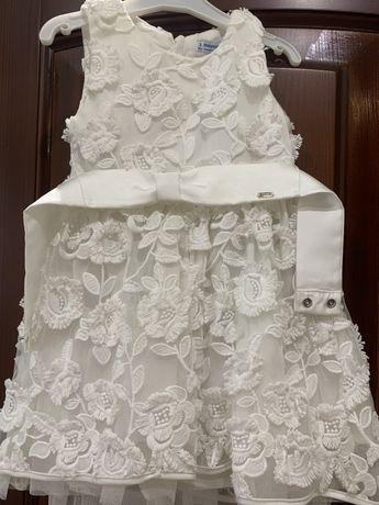 Нарядное платье майорал
