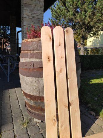 Sztachety drewniane, olchowe, dobra jakość, niska cena! Drugi gatunek
