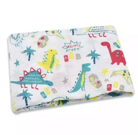 Муслиновая пеленка для малышей