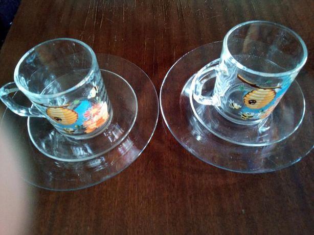 Набор детской посуды «Пчелки» 3 предмета