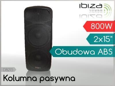 Kolumny IBIZA DB 215 A