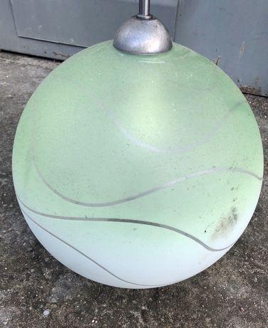 Lampa  kula zielona