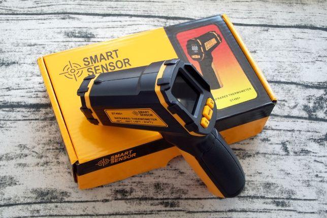 Пирометр SmartSensor ST490+ инфракрасный термометр бесконтактный GM320