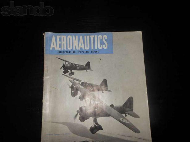 ВИНТАЖ первый в мире журнал AERONAUTICS