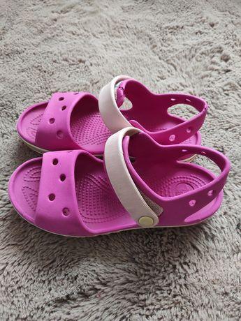 Sandały dziewczęce piankowe Crocs 30