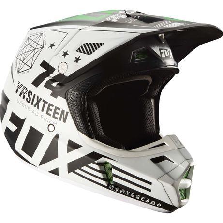 Fox V2 union pro circuit monster nowy kask off-road mx atv wyprzedaż