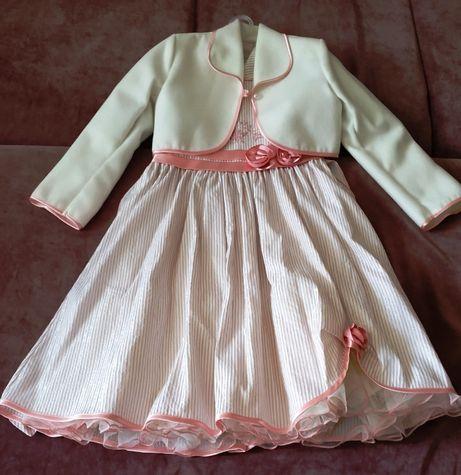 Нарядное фирменное платье с болеро на праздник, выпускной