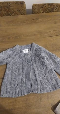 Sweterek 9-12 m-cy